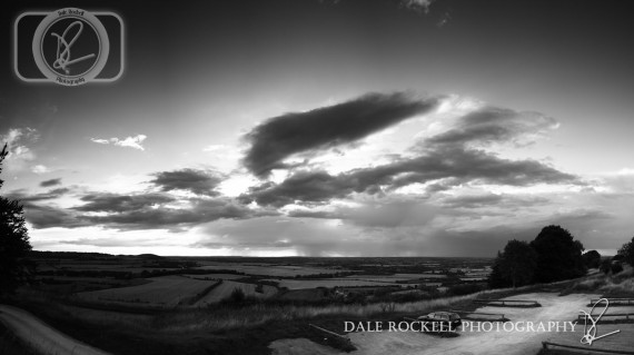 Panorama2BW_Bison Hill_07-09-13